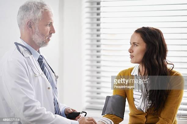 Bietet die beste Betreuung möglich zu seinem Patienten