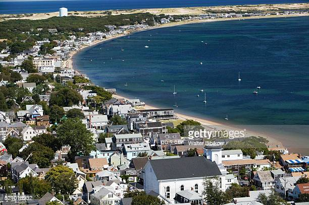 Provincetown Seen from Pilgrim Monument on Cape Cod