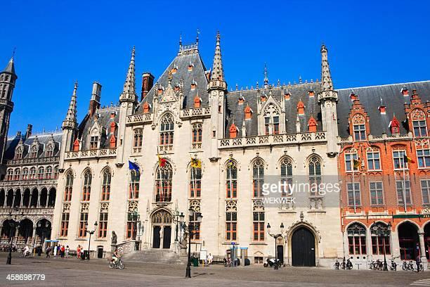 省宮殿、ブルージュ,ベルギー - 西フランダース ストックフォトと画像