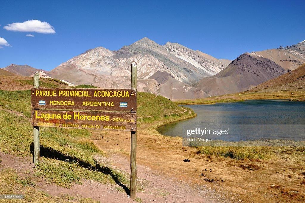 Provincial Park Aconcagua : Stock Photo