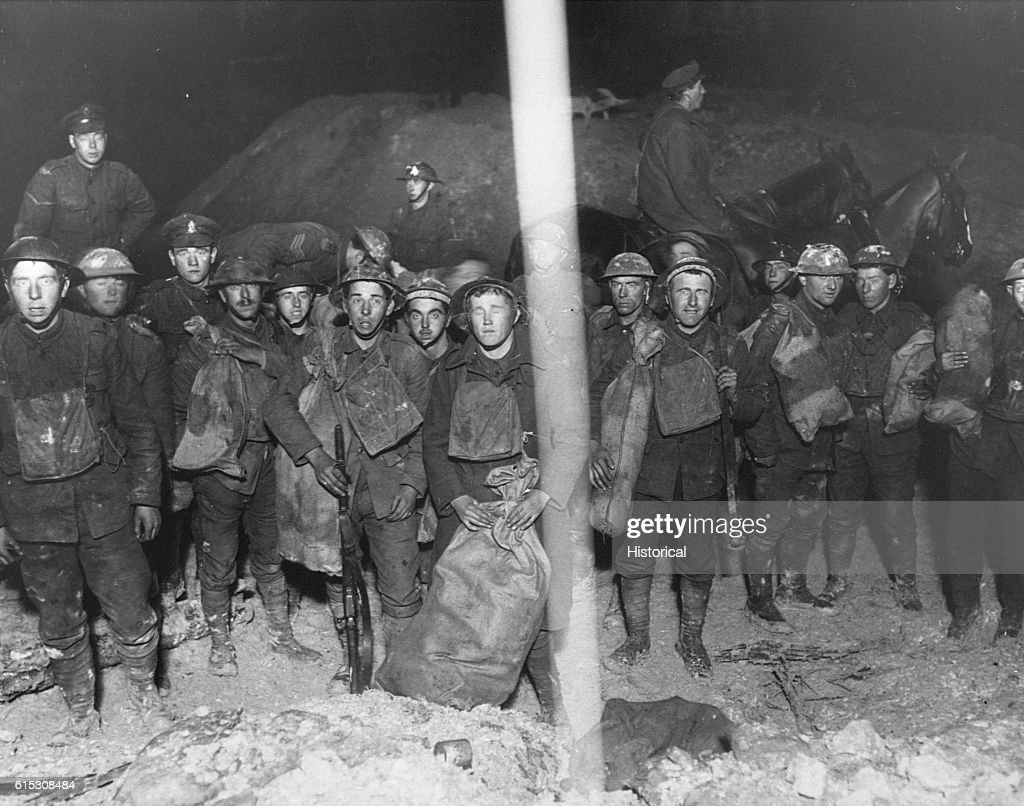 stylish design 100% authenticated discount price Provisions for the Tommies in the trenches at St. Quentin ...
