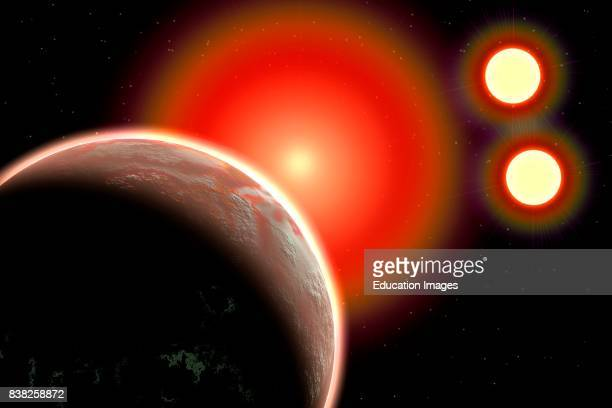 Proxima B Planet Orbiting Proxima Centauri a Red Dwarf Star