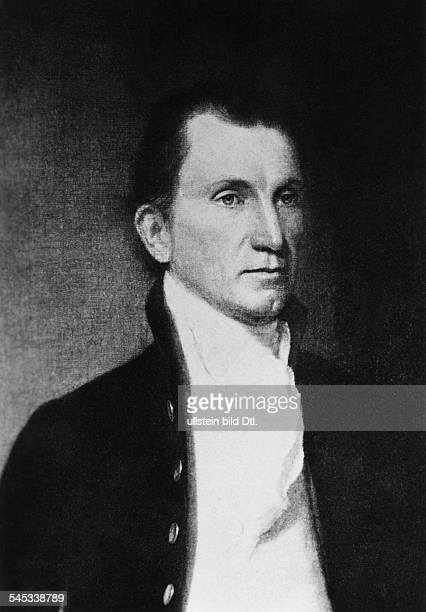 175818315 Präsident der USA 18171825Porträt undatiert
