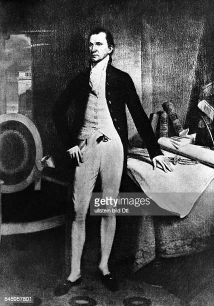 1758 18315 Präsident der USAGemälde von John Vanderlyn