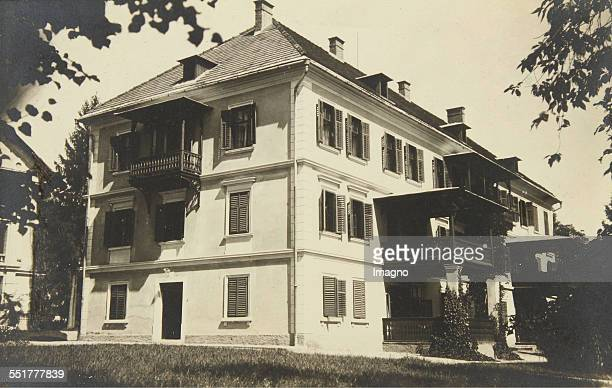 Pörtschach am Wörthersee Villa in the Establishment 'Werzer' About 1930 Photograph