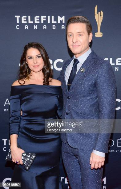 Prudat and Shawn Doyle arrive at the 2018 Canadian Screen Awards at the Sony Centre for the Performing Arts on March 11 2018 in Toronto Canada