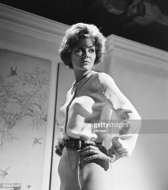 Prudence and the Pill film rehearsals at Pinewood Studios Iver Heath Buckinghamshire Thursday 14th September 1967 Irina Demick plays the character of...