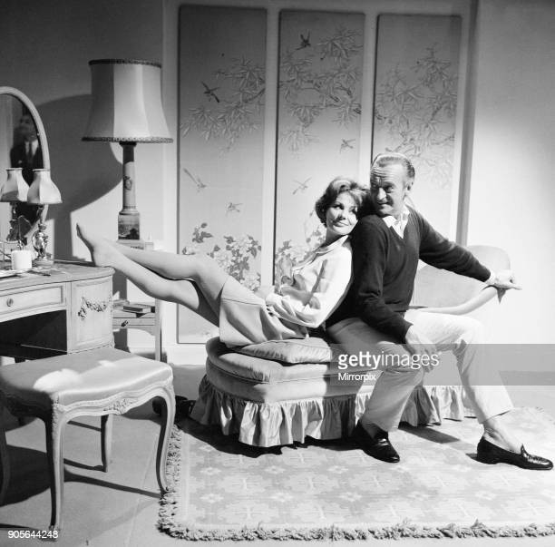 Prudence and the Pill, film rehearsals at Pinewood Studios, Iver Heath, Buckinghamshire, Thursday 14th September 1967 David Niven stars as Gerald...
