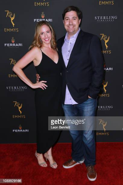 Pruess and guest attend the Television Academy Honors Emmy Nominated Producers at Montage Beverly Hills on September 14 2018 in Beverly Hills...