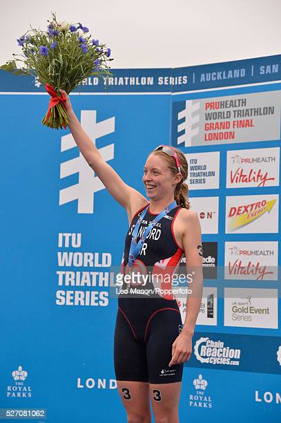 Pruhealth World Triathlon Grand Final Championships Hyde Park London Women Presentation Gold Non Stanford GBR