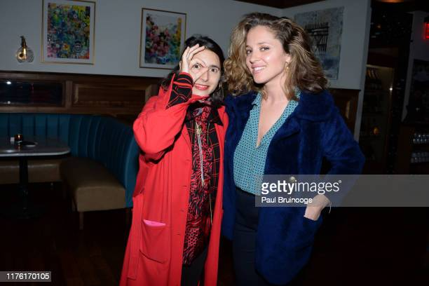 """Prune Nourry and Margarita Levieva attend Cohen Media Group And The Cinema Society Host The After Party For """"Serendipity"""" at Society Cafe at Walker..."""