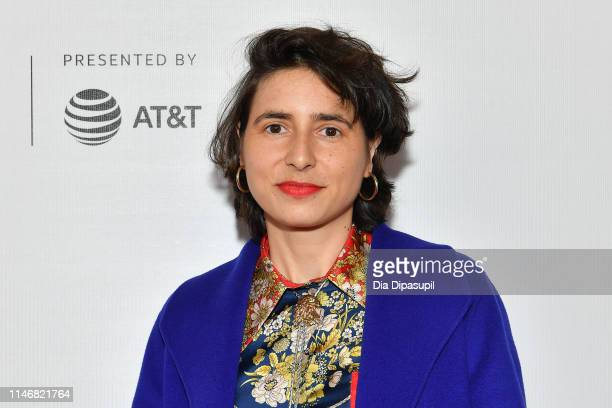 Prune Nourry attends Tribeca Talks - Prune Nourry and Serendipity during the 2019 Tribeca Film Festival at Spring Studios on May 03, 2019 in New York...
