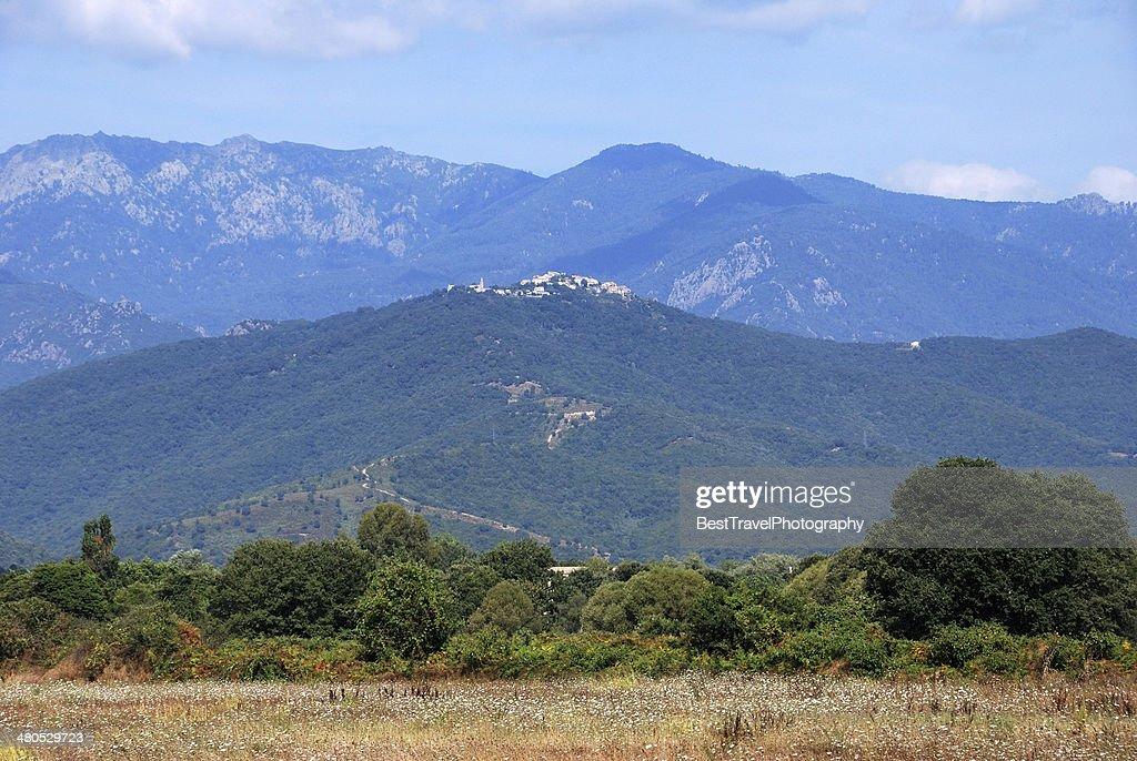 Prunelli di Fiumorbu, Corsica : Stockfoto