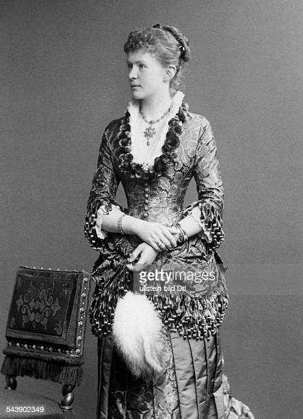 Prussia Elisabeth Anna Princess of Germany*080218571895wife of Frederick Augustus II Grand Duke of OldenburgHalf length Photographer Reichard Lindner...