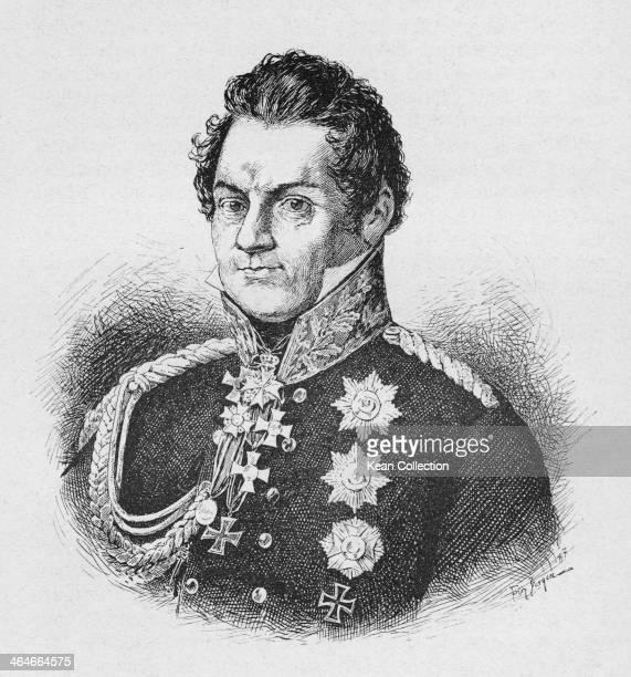 Prussian field marshal August Neidhardt von Gneisenau , circa 1800.