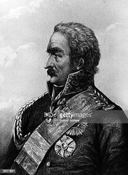 Prussian Field Marshal Gebhard Leberecht von Blucher