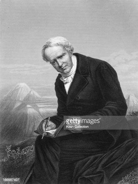 Prussian geographer naturalist and explorer Alexander von Humboldt circa 1820 From a portrait from life