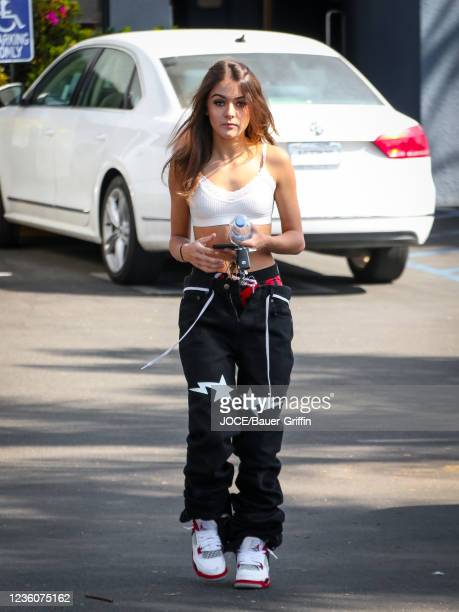 Prymrr is seen on October 22, 2021 in Los Angeles, California.