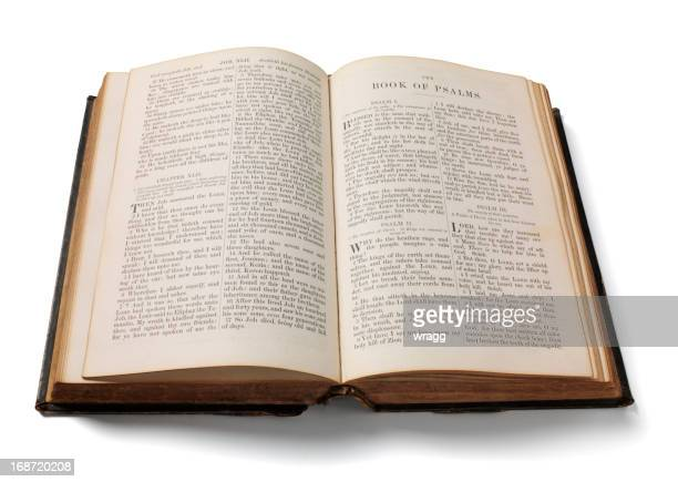 Psalms in a Bible