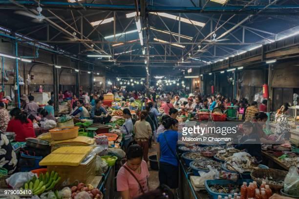 Psar Chaa Market, (Psar Chas) Old Market, Siem Reap, Cambodia