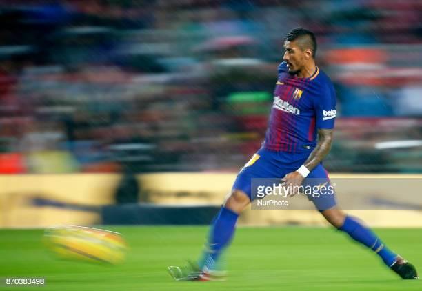 Psulinho Bezerra during La Liga match between FC Barcelona v Sevilla CF in Barcelona on November 04 2017