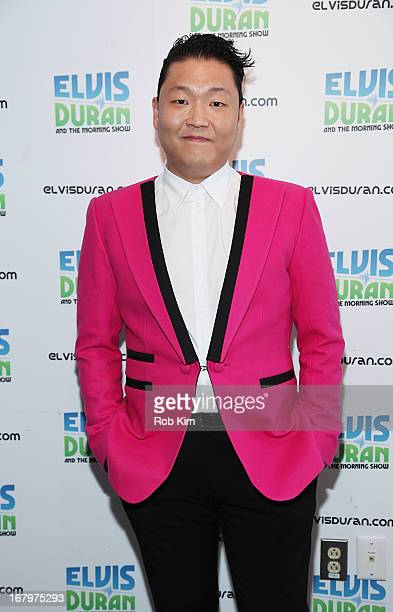 Psy visits the Z100 Studio on May 3 2013 in New York City