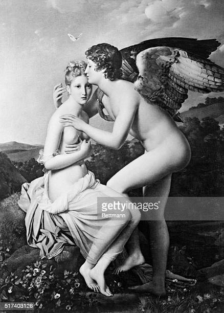 Psyche and Cupid Painting by Francois Gerard 1798