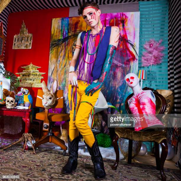 Psychedelic Avant-garde Fashion