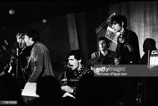 Psychedelic bluesrock band The Blues Project perform at the Cafe Au Go Go in June 1967 in New York City New York