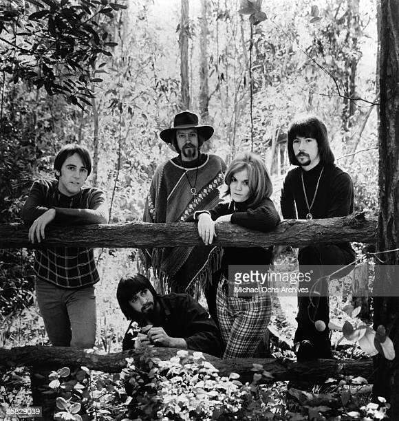 Psychedelic rock band The Peanut Butter Conspiacy poses for a portrait in 1966 in Los Angeles California