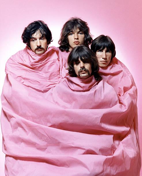 Pink Floyd In Pink Wall Art