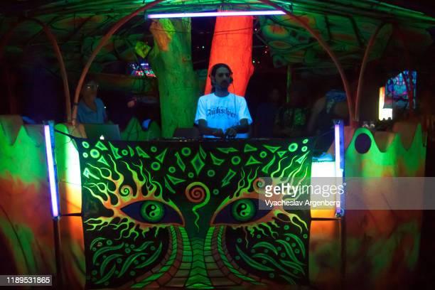 psychedelic trance culture in goa - argenberg - fotografias e filmes do acervo