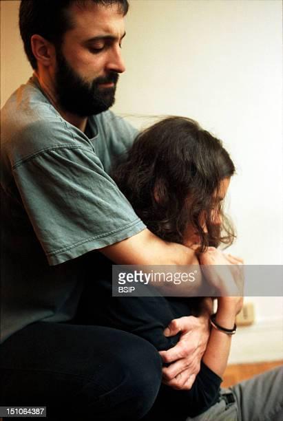 Psychiatirc Nurse With Patient Restraining