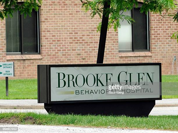 Psychiatric Solutions Inc's Brooke Glen Behavioral Hospital stands in Fort Washington Pennsylvania US on Monday May 17 2010 Universal Health Services...