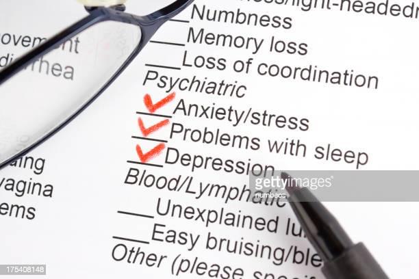 Psychiatric symptoms