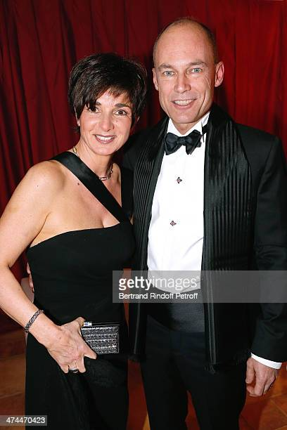 Psychiatrist and aeronaut Bertrand Piccard with his wife Michele Picard attend 'La Nuit des Neiges' Charity Gala Held at Congress Centre 'le Regent'...