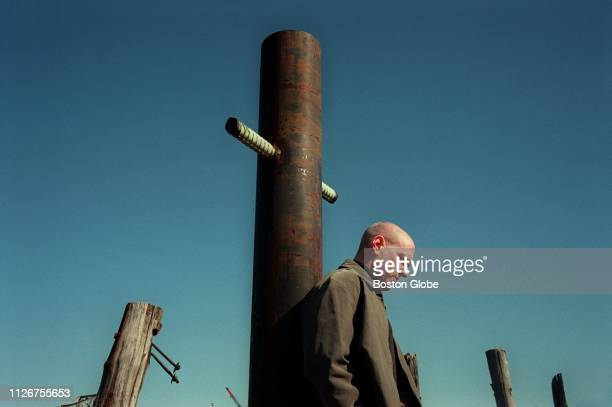Psychiatrist Dr Keith Ablow poses for a portrait in Chelsea MA on April 26 2001