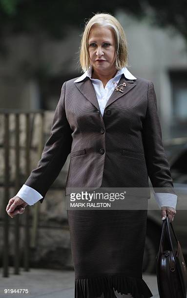 Psychiatrist Khristine Eroshevich outside the Los Angeles Superior Court during the preliminary hearing into the death of the 39yearold former...