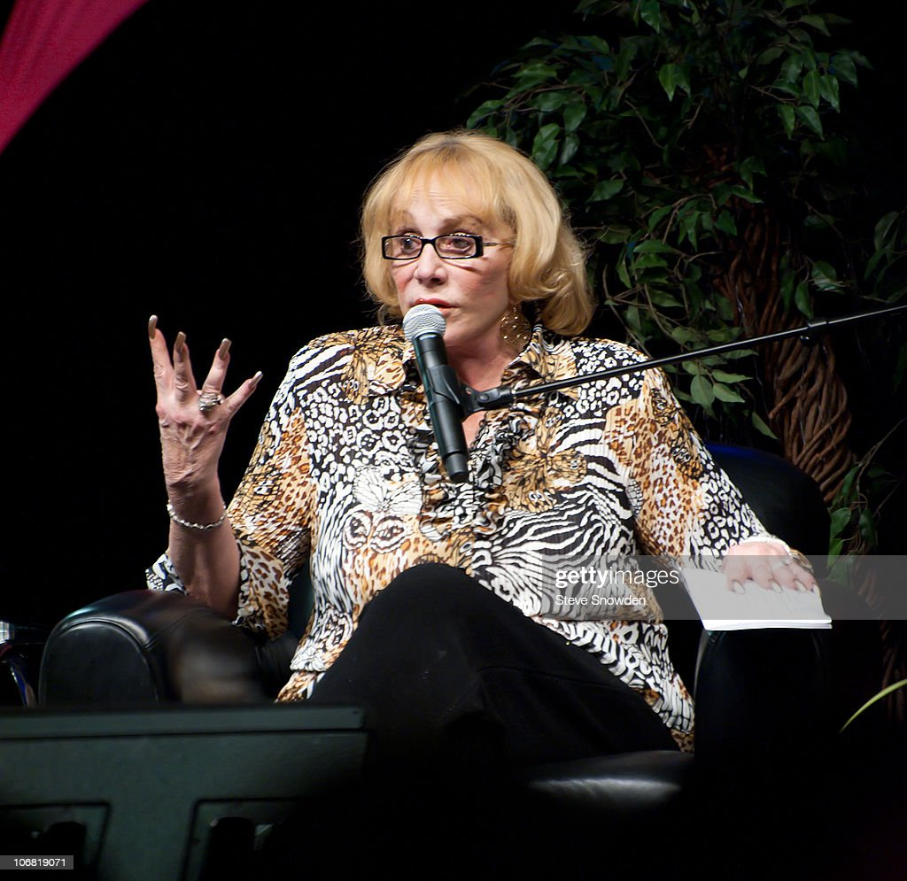 Sylvia Browne Performs At Route 66 Casino's Legends Theater : News Photo