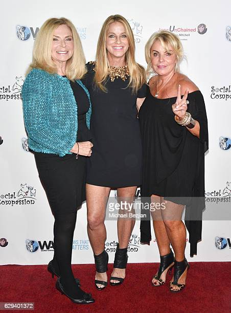 Psychic Medium and TV personality Char Margoles television news personalityÊDorothy Lucy and TV personality Bobi Leonard at Champions of Change A...