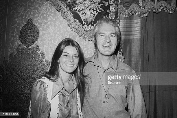 Psychologist and drug campaigner Timothy Leary with wife Rosemary Leary at a press conference in New York in 1969 Leary announced his candidacy for...