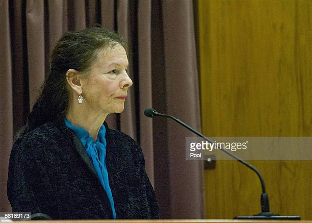 Psychologist Ingrid Dunckley gives evidence during the continuation of David Bain's retrial at Christchurch High Court on April 24 2009 in...