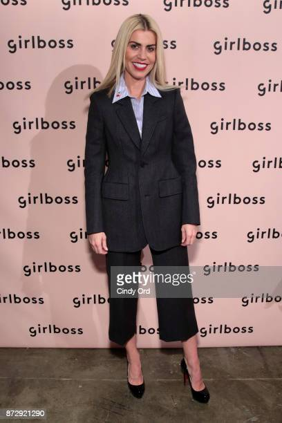 Psychologist The Practice Founder Dr Lauren Hazzouri attends Girlboss Rally Hosted By Sophia Amoruso's Girlboss on November 11 2017 in New York City
