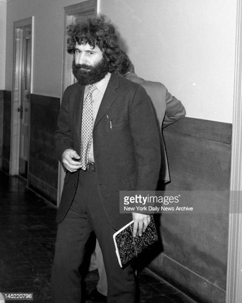 Ptl Frank Serpico as he arrives to testify in cop trial at Brooklyn Police Head Quarters Knapp Commission