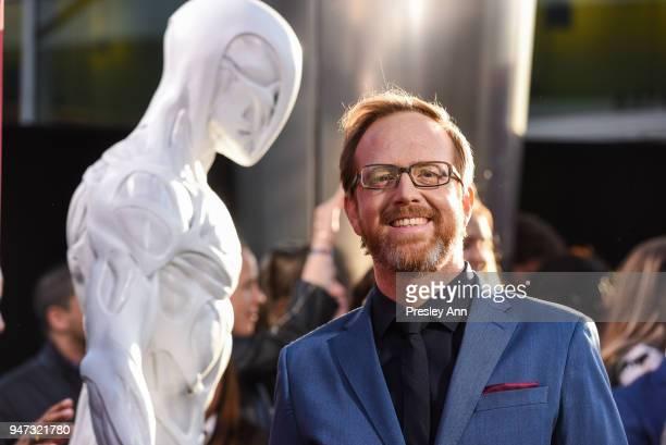 Ptolemy Slocum attends 'Westworld' Season 2 Los Angeles Premiere on April 16 2018 in Los Angeles California