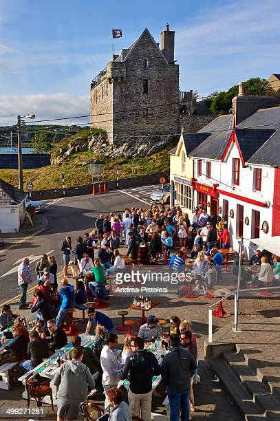 Pub crowd in Ireland