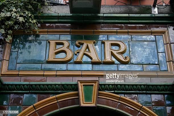 pub fascia lettering - pub stock pictures, royalty-free photos & images