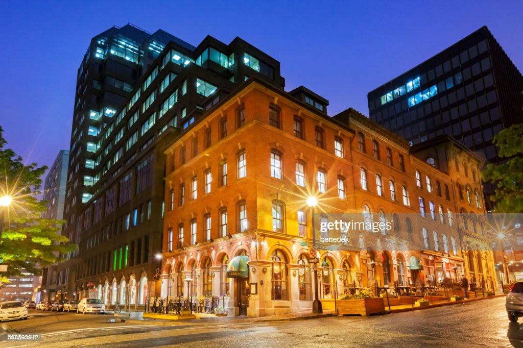 Pub In Downtown Halifax Nova Scotia Canada Stock Photo