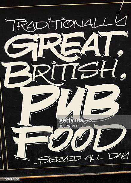 Pub menu board
