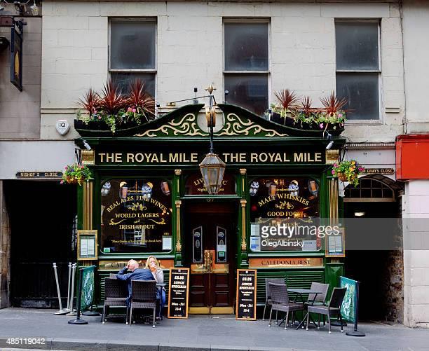 Pub on Royal Mile, Edinburgh, Scotland, United Kingdom.